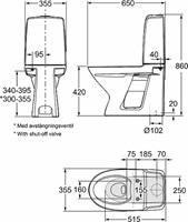Ifö Spira WC-pott 6260